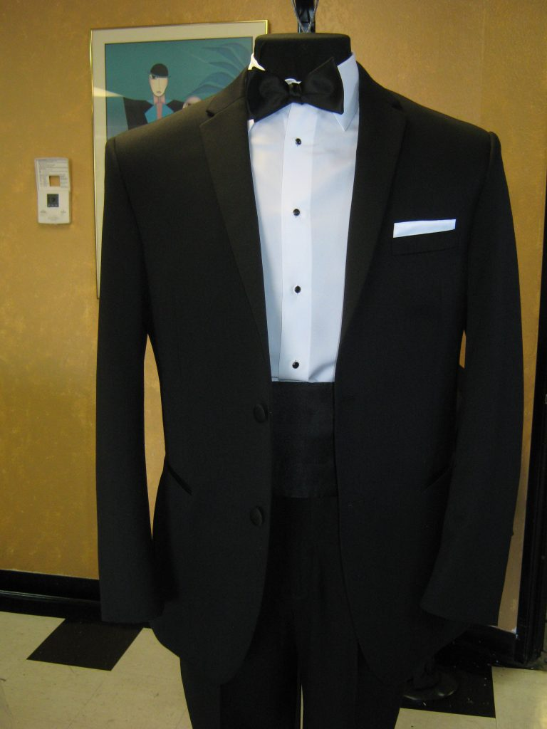 Tuxes And Suits For Employees Rose Tuxedo