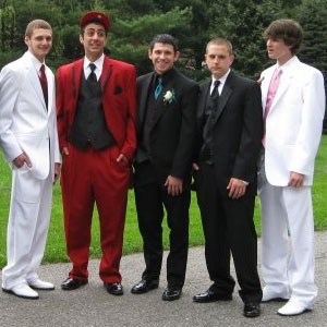 No Date? No Problem: Going Stag to Prom - Rose Tuxedo: Wedding ...