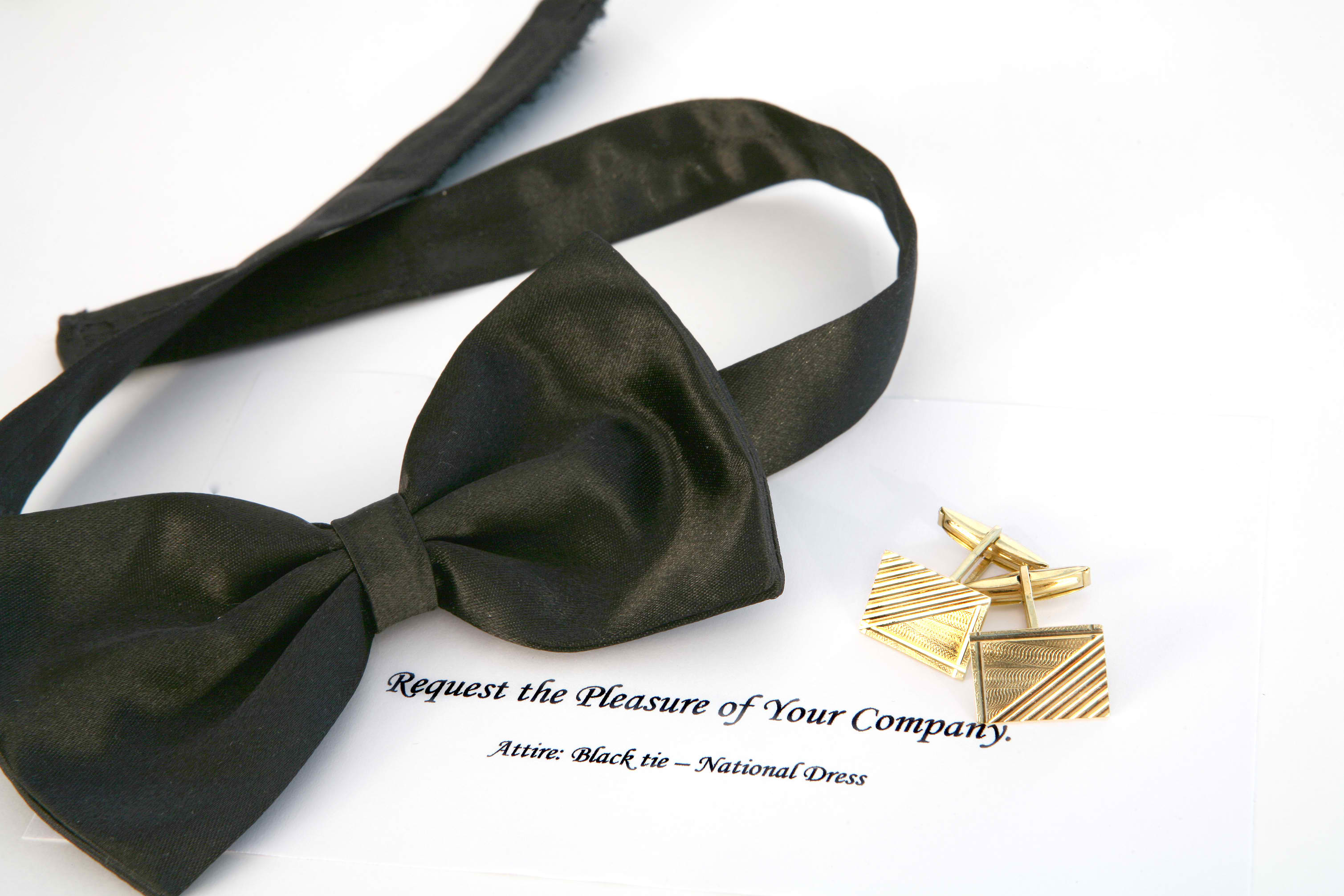 Black Tie Signficance