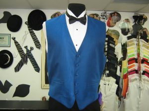 Fullback vest for weddings, prom and sweet sixteens