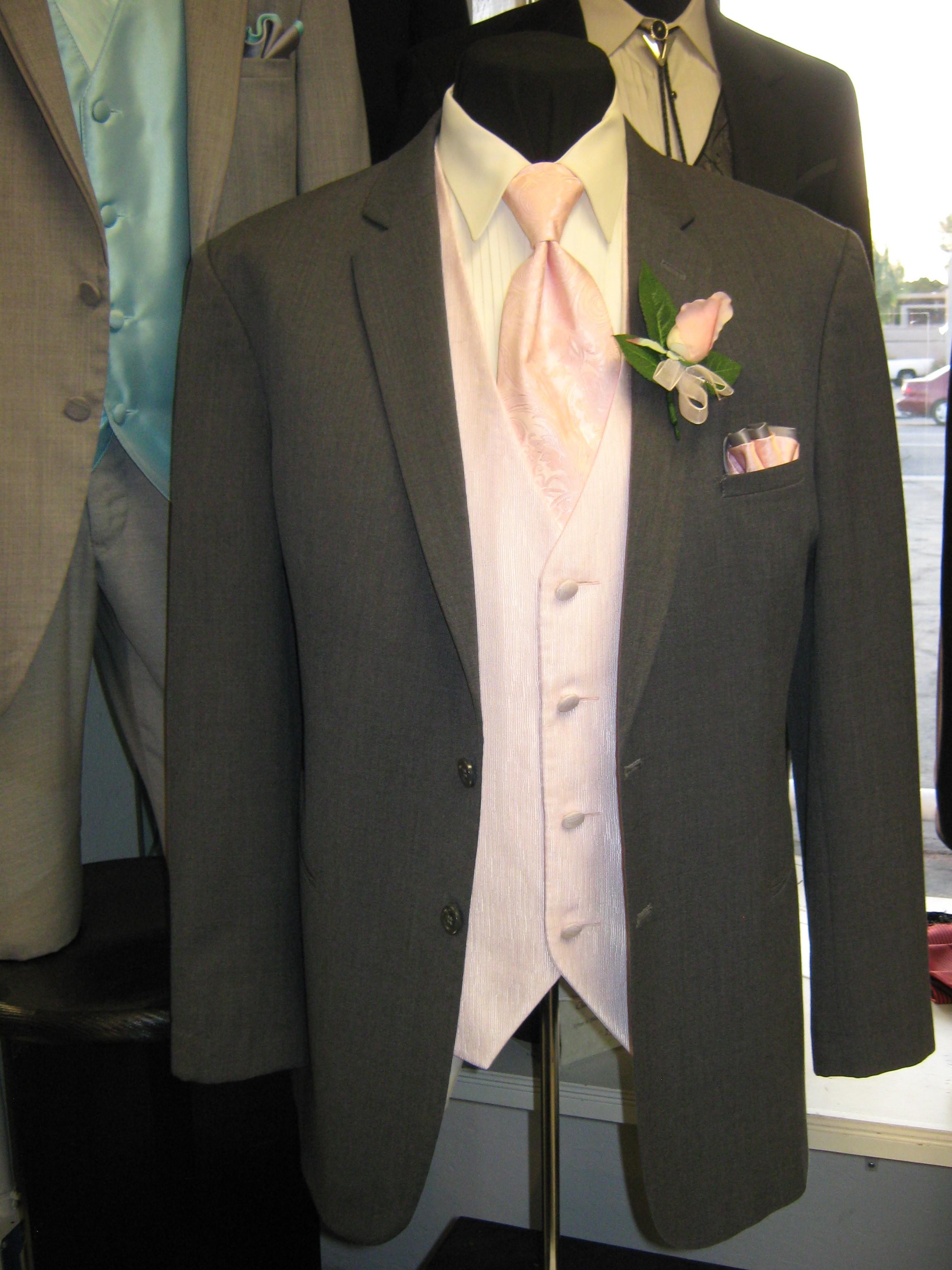 Quinceanera tuxedos for chambelanes - Rose Tuxedo: Wedding ...  Quinceanera tux...