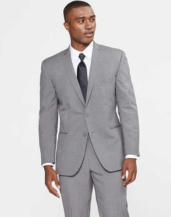 Grey tuxedo