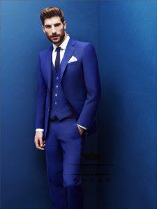 Costume Royal Blue Tuxedo