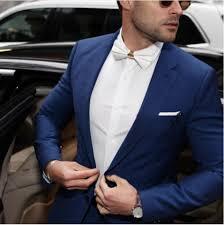 Slate blue Aspen suit