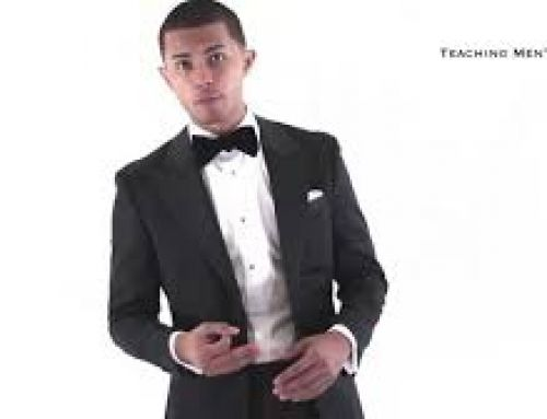 Tips for Wearing a tuxedo